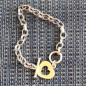 925 Jewelry - Sterling Silver Bracelet marked 925